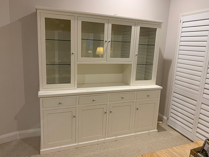 White Buffet & Hutch