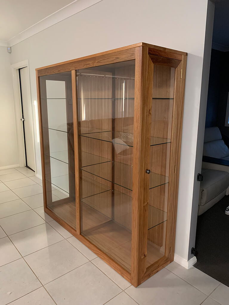 Tassie Blackwood Display Unit