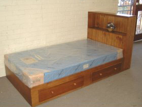 Storage Single Size Bed