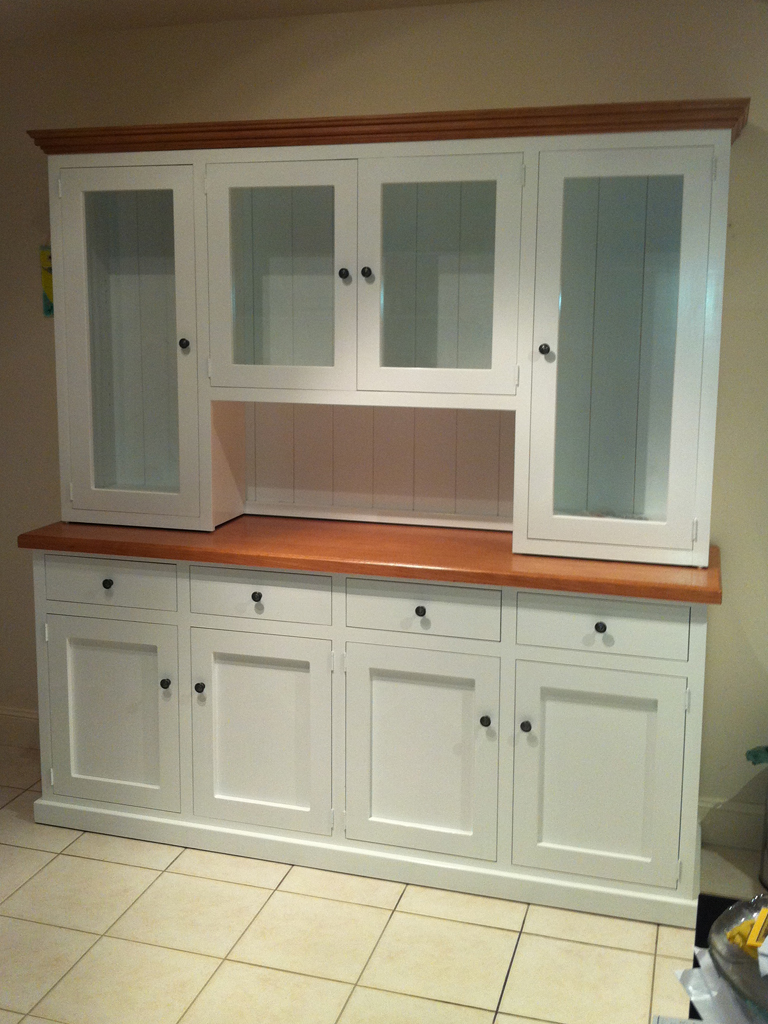 White Buffet Hutch