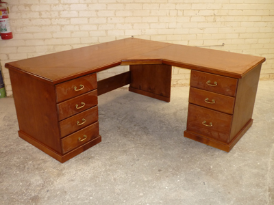 Desks bookshelves granville timber furniture custom made solid hardwood blackwood oak and - Pine corner desks ...