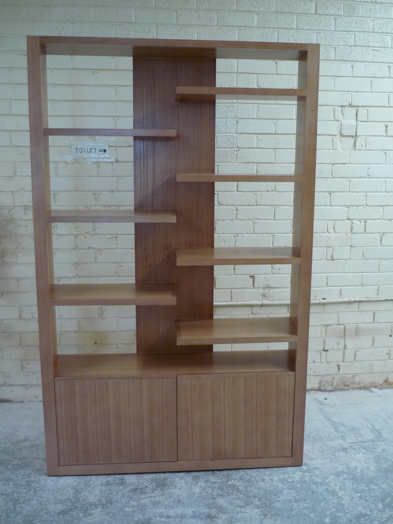 Tassie Oak Display Unit