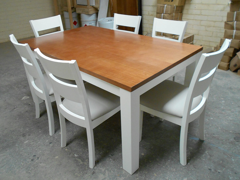 White Table and Chairs