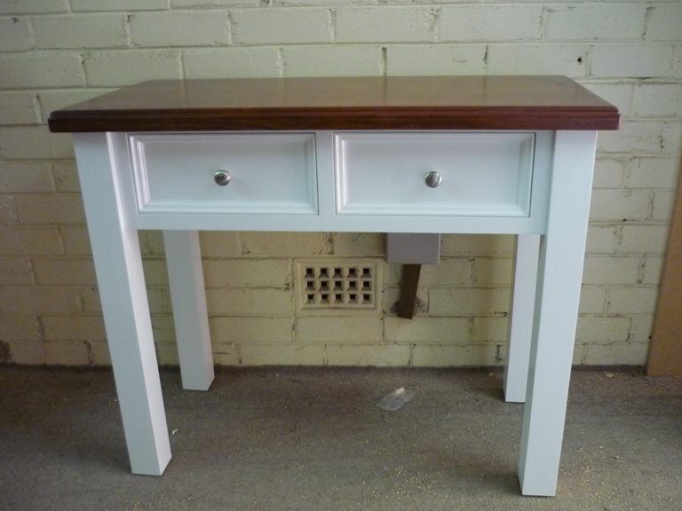 White Hall Table