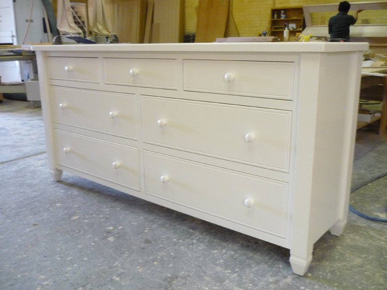 White Tallboys amp Bedsides Granville Timber Furniture